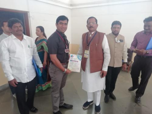 Honorable Shripad Yesso Naik, AYUSH Minister