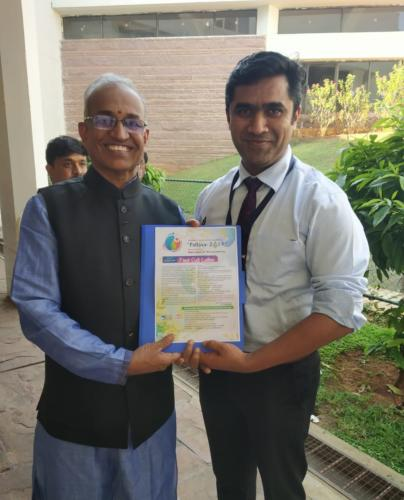Dr B R Ramakrishna, Vice President