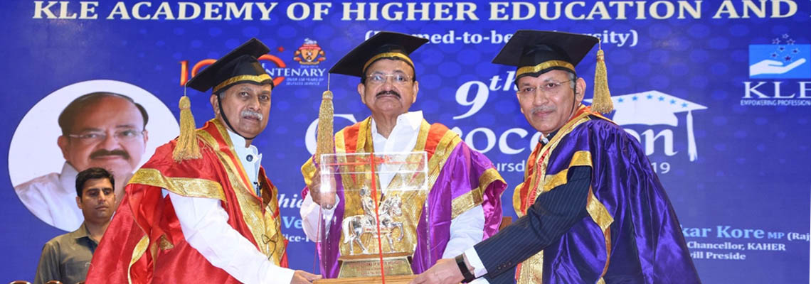 9th Convocation ceremony of KLE Academy of Higher Education and research